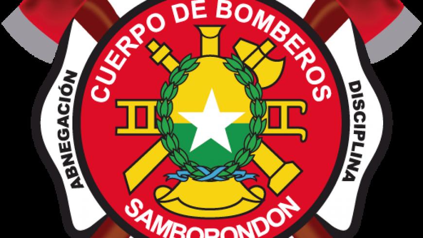 Bomberos de Samborondon con el pueblo ecuatoriano